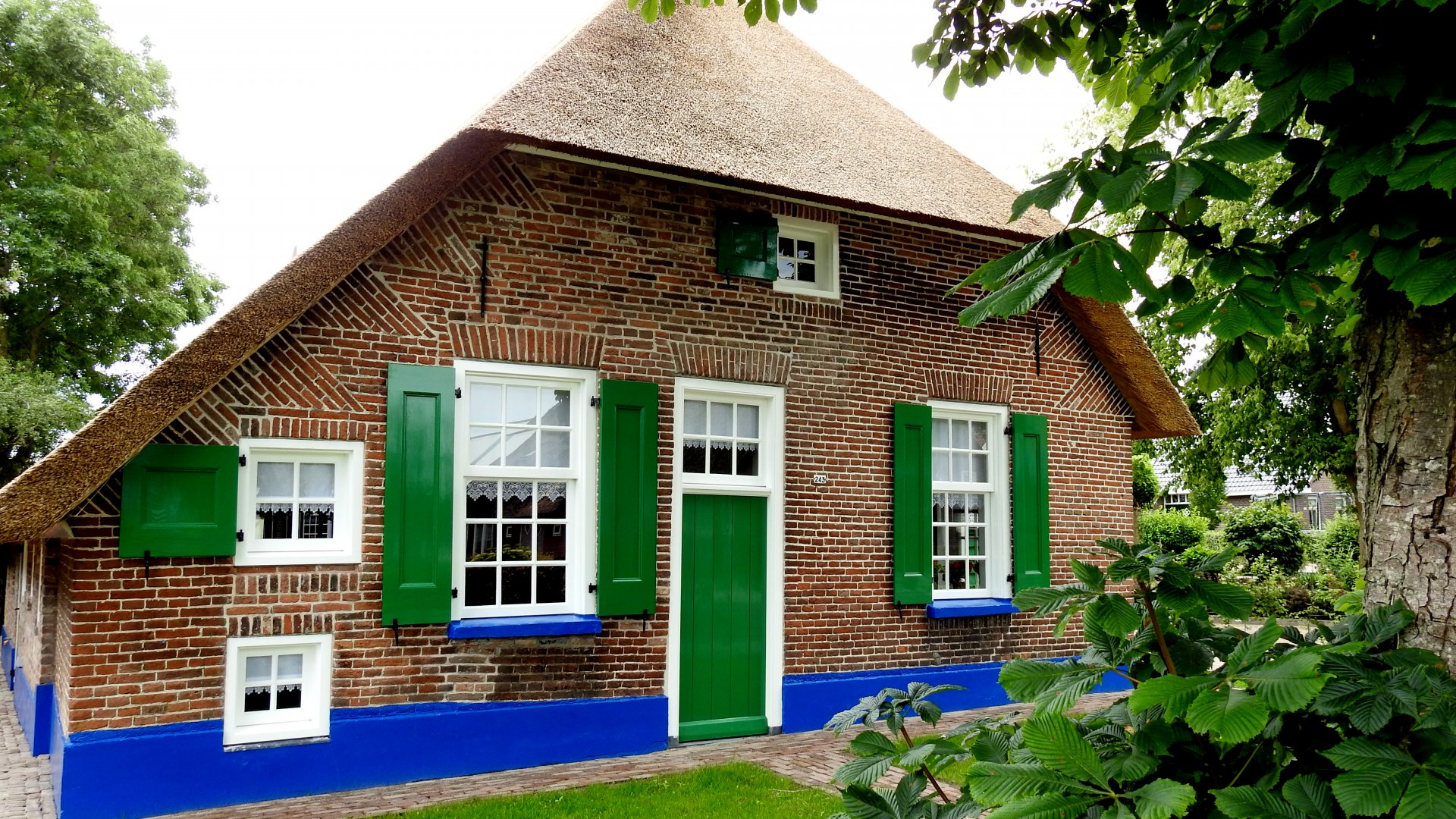 Staphorster boerderijuit ongeveer 1850 in Rouveen